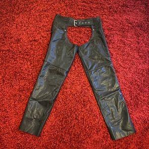 Women's genuine Milwaukee leather chaps